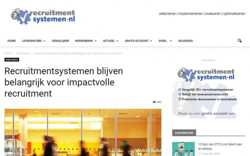 Recruitmentsystemen.nl